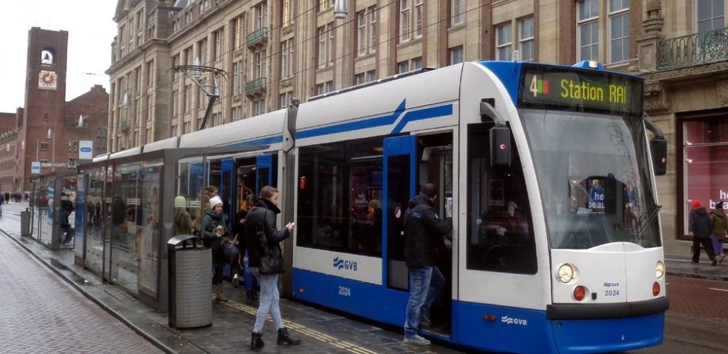 Tram GVB Amsterdam