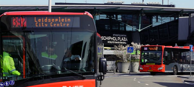 Airport Express Bus 397 Connexxion Amsterdam Schiphol