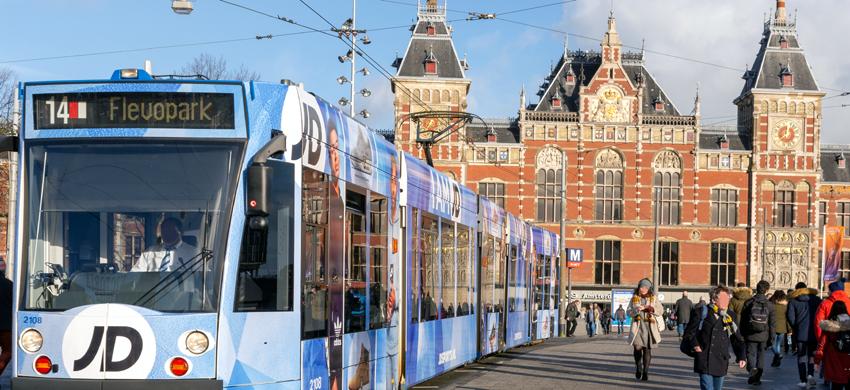 Amsterdam Centraal train ticket price