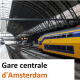Gare centrale d'Amsterdam station Amsterdam Centraal