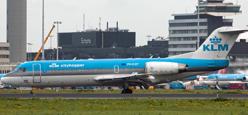 Hub dell'aeroporto di Schiphol di KLM