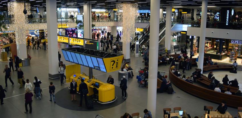 Terminale dell'aeroporto di Schiphol