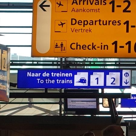 Stazione ferroviaria dell'aeroporto di Schiphol